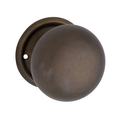 0853 Plain Rim Lock Knob Set