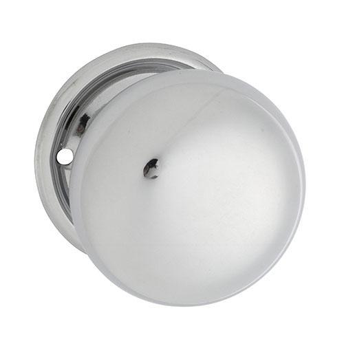 0998 Plain Rim Lock Knob Set